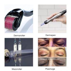 kozmetika, dermaroller, hámlasztás, lézer,